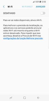 Samsung Galaxy S8 - Wi-Fi - Como ligar a uma rede Wi-Fi -  6