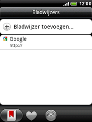 HTC A3333 Wildfire - Internet - Internetten - Stap 9