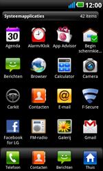 LG P990 Optimus 2X Speed - E-mail - e-mail instellen: POP3 - Stap 3