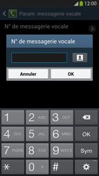 Samsung I9295 Galaxy S IV Active - Messagerie vocale - Configuration manuelle - Étape 8