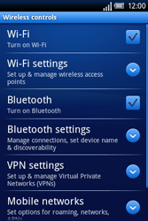 Sony Ericsson Xperia X8 - Mms - Manual configuration - Step 5