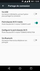 Wiko Tommy 2 - Internet et connexion - Partager votre connexion en Wi-Fi - Étape 10