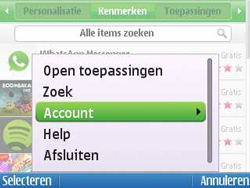 Nokia E5-00 - Applicaties - Applicaties downloaden - Stap 5