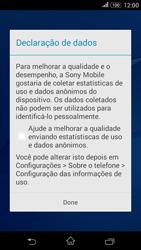 Sony Xperia E4G - Primeiros passos - Como ativar seu aparelho - Etapa 15