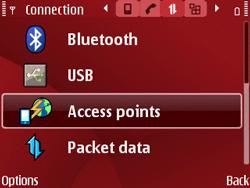 Nokia E63 - Internet - Manual configuration - Step 6