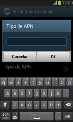 Samsung I8190 Galaxy S III Mini - Internet (APN) - Como configurar a internet do seu aparelho (APN Nextel) - Etapa 14