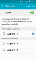 Samsung Galaxy J1 (2016) (J120) - Bluetooth - connexion Bluetooth - Étape 10