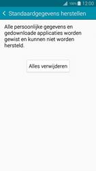 Samsung I9195i Galaxy S4 mini VE - Instellingen aanpassen - Fabrieksinstellingen terugzetten - Stap 7
