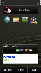 Nokia E7-00 - Internet - Example mobile sites - Step 1
