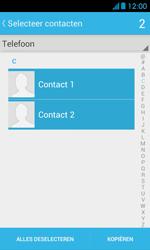Huawei Ascend Y300 - Contacten en data - Contacten kopiëren van toestel naar SIM - Stap 8
