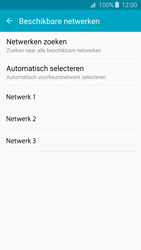 Samsung J320 Galaxy J3 (2016) - Netwerk - Handmatig een netwerk selecteren - Stap 9