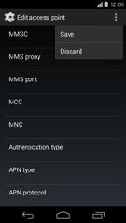 Motorola Moto G - Mms - Manual configuration - Step 15
