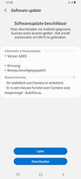 Samsung galaxy-a80-dual-sim-sm-a805fz - Software updaten - Update installeren - Stap 7