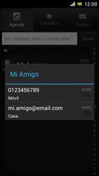 Sony Xperia J - Mensajería - Escribir y enviar un mensaje multimedia - Paso 7