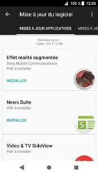 Sony Xperia XZ1 - Aller plus loin - Mettre à jour le logiciel interne de votre mobile - Étape 7