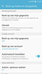 Samsung Galaxy S6 - Android M - Device maintenance - Back up - Stap 10