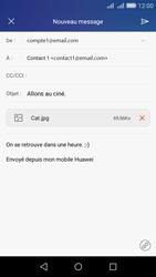 Huawei Y6 - E-mail - Envoi d