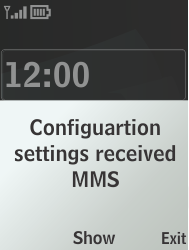 Nokia 301-1 - MMS - Automatic configuration - Step 3