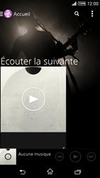 Sony Xpéria T3 - Photos, vidéos, musique - Ecouter de la musique - Étape 4