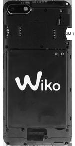 Wiko Harry 2 - Appareil - comment insérer une carte SIM - Étape 3