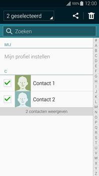 Samsung N910F Galaxy Note 4 - Contactgegevens overzetten - delen via Bluetooth - Stap 7