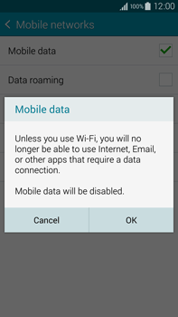 Samsung N910F Galaxy Note 4 - Internet - Enable or disable - Step 7