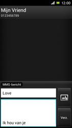 Sony ST26i Xperia J - MMS - afbeeldingen verzenden - Stap 11