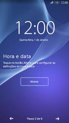 Sony Xperia E4 - Primeiros passos - Como ligar o telemóvel pela primeira vez -  6