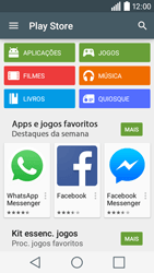 LG Y50 / LEON - Aplicações - Como pesquisar e instalar aplicações -  4