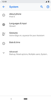 Google Pixel 3 - Device - Software update - Step 6