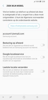 Samsung Galaxy S9 Plus - Beveiliging en privacy - zoek mijn mobiel activeren - Stap 6