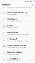 Samsung Galaxy A3 (2016) - Android Nougat - Segurança - Como ativar o código de bloqueio do ecrã -  4