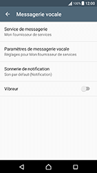 Sony Xperia X Performance (F8131) - Messagerie vocale - Configuration manuelle - Étape 6