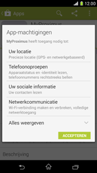 Sony Xperia Z1 Compact D5503 - Applicaties - MyProximus - Stap 9