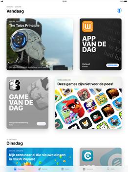 Apple iPad Pro 12.9 - iOS 11 - Applicaties - Downloaden - Stap 3