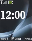 Nokia 2330 classic - MMS - envoi d'images - Étape 1