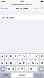 Apple iPhone 6 iOS 8 - Wifi - configuration manuelle - Étape 5