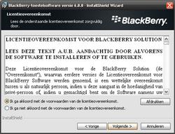 BlackBerry 9800 Torch - Software - installeer firmware update - Stap 11