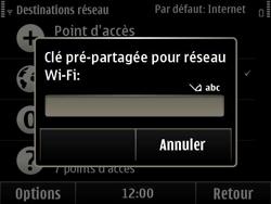 Nokia E6-00 - Wifi - configuration manuelle - Étape 10
