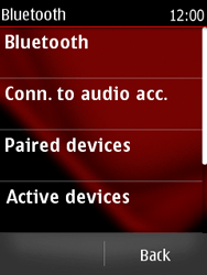 Nokia Asha 300 - Bluetooth - Pair with another device - Step 6