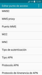 Samsung A500FU Galaxy A5 - Mensajería - Configurar el equipo para mensajes multimedia - Paso 11