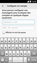 Huawei Ascend Y330 - E-mail - Configuration manuelle - Étape 6
