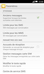 Alcatel Pop S3 (OT-5050X) - SMS - configuration manuelle - Étape 6