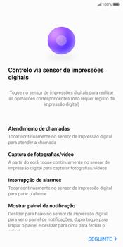 Huawei P Smart - Primeiros passos - Como ligar o telemóvel pela primeira vez -  16