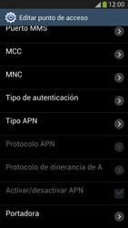 Samsung Galaxy S4 - Internet - Configurar Internet - Paso 12