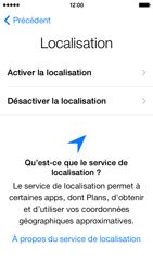 Apple iPhone 5s - Premiers pas - Créer un compte - Étape 7