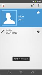 Sony Xpéria M2 - Contact, Appels, SMS/MMS - Ajouter un contact - Étape 10