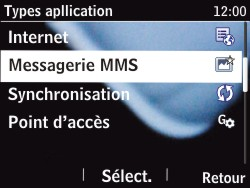 Nokia Asha 201 - MMS - Configuration manuelle - Étape 7