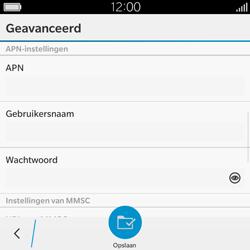 BlackBerry Classic - Mms - Handmatig instellen - Stap 8