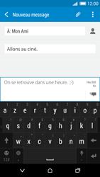 HTC Desire 820 - Contact, Appels, SMS/MMS - Envoyer un MMS - Étape 13